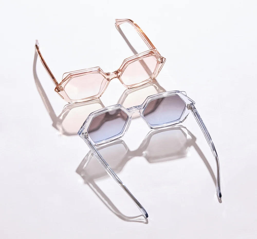 Ego Geometric Sunglasses Oliver Goldsmith Icons Party Never Ends