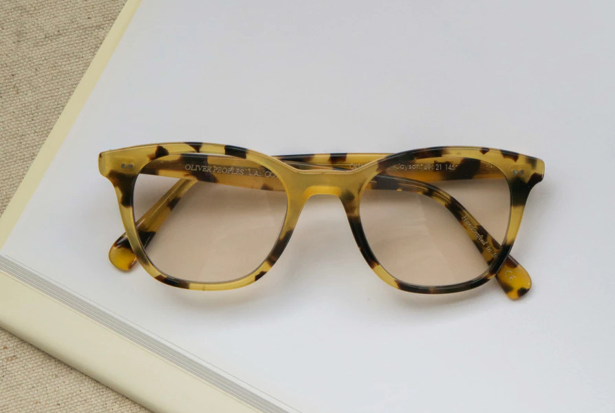 Oliver Peoples Acetate Frames Cayson Eyeglasses from the Fall 21 Collection